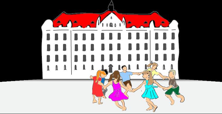 Iskola gyerekekkel
