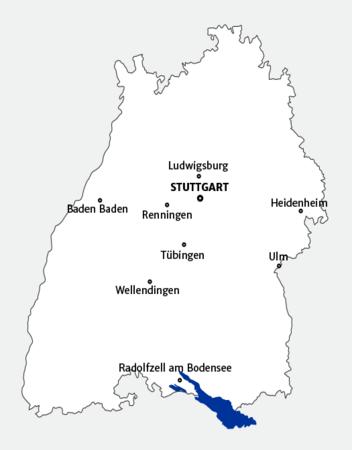 baden-württemberg térkép