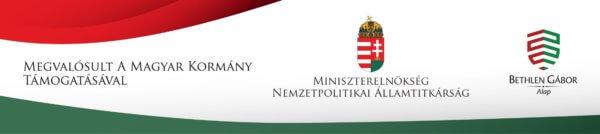 A kiemelt támogató Magyar Kormány logója