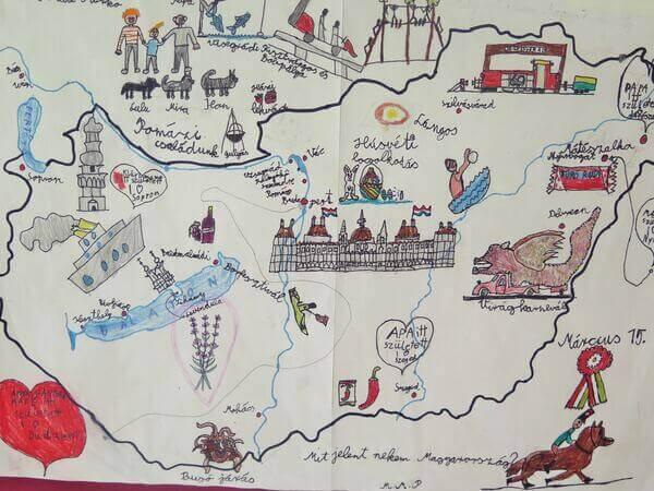 Magyarország rajza