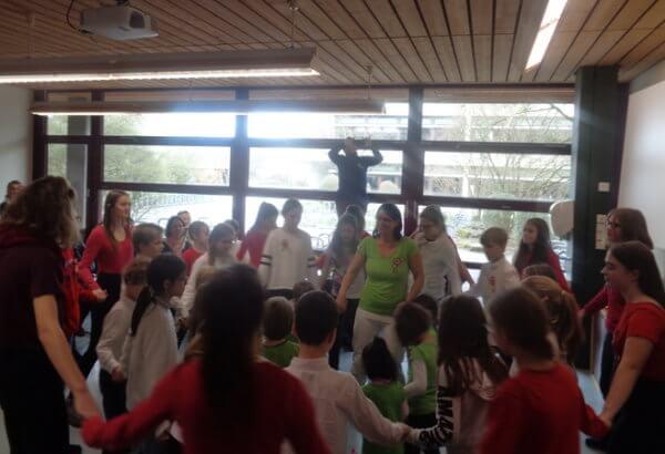 táncos csoportkép
