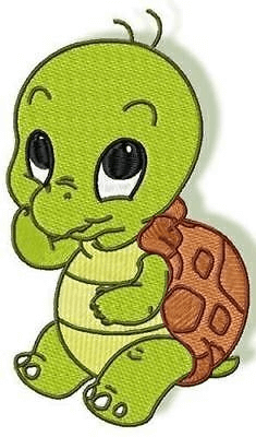 teknős rajz