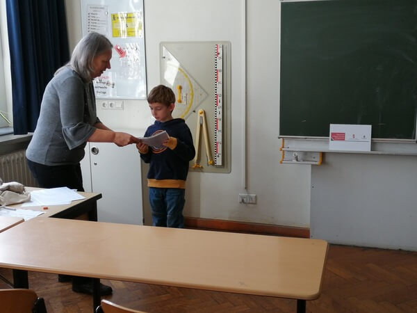 iskolában
